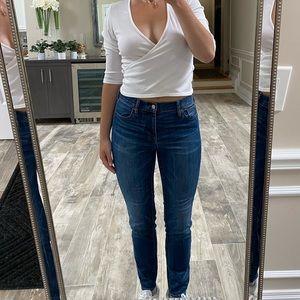 Madewell high waisted skinny jean